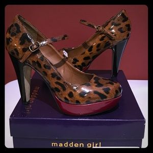 Madden Girl Leopard Heels